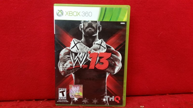 WWE '13 (Xbox 360, 2012)