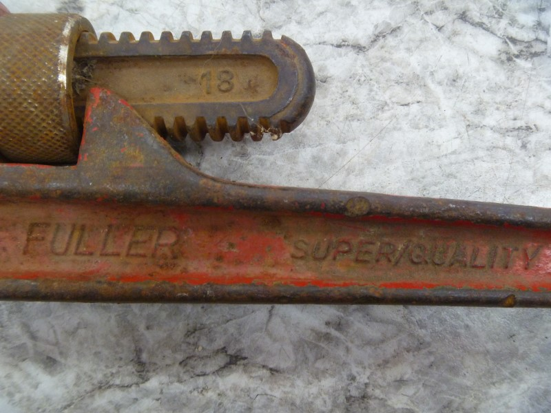 FULLER 431-0044 PRO 18-INCH PIPE WRENCH