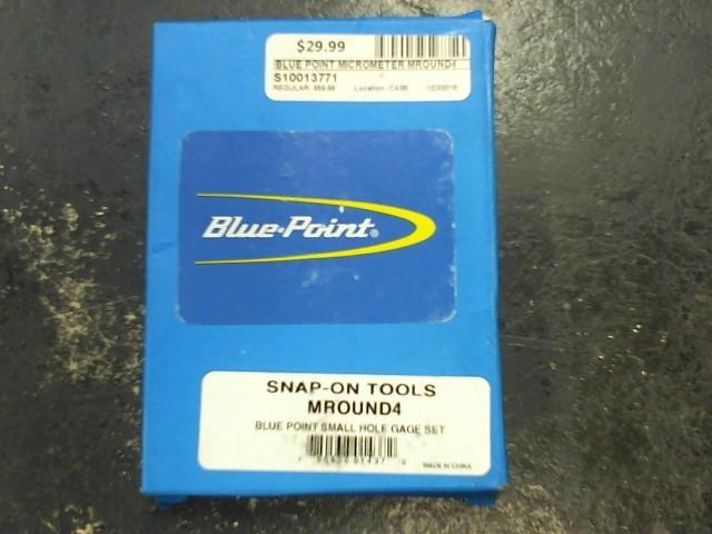BLUE POINT Micrometer MROUND4