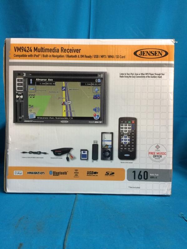 JENSEN Multimedia Receiver VM9424