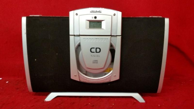 Audiovox CE506SLK Vertical CD Shelf System