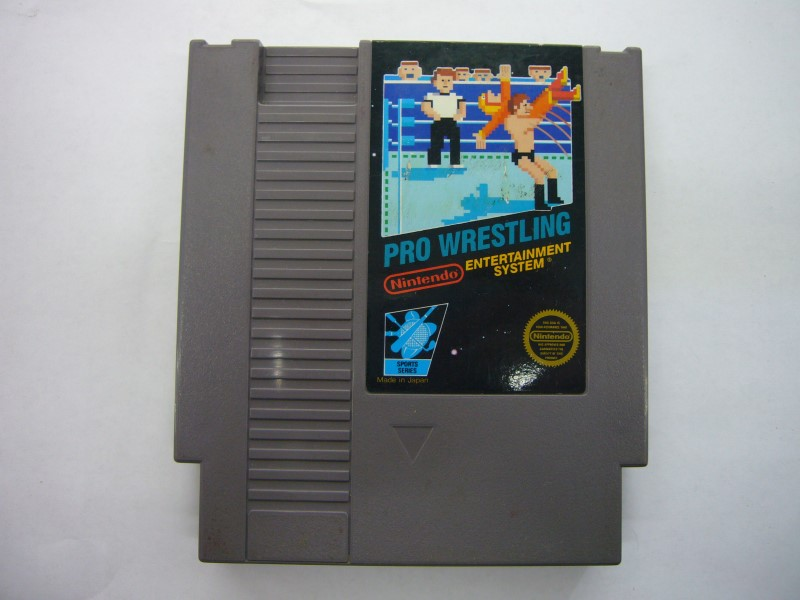 NINTENDO NES Game PRO WRESTLING *CARTRIDGE ONLY*