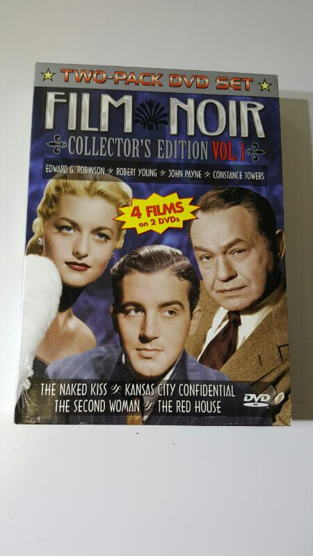 Film Noir Collector's Edition Volume 1 (4 Movies on 2 DVDs)