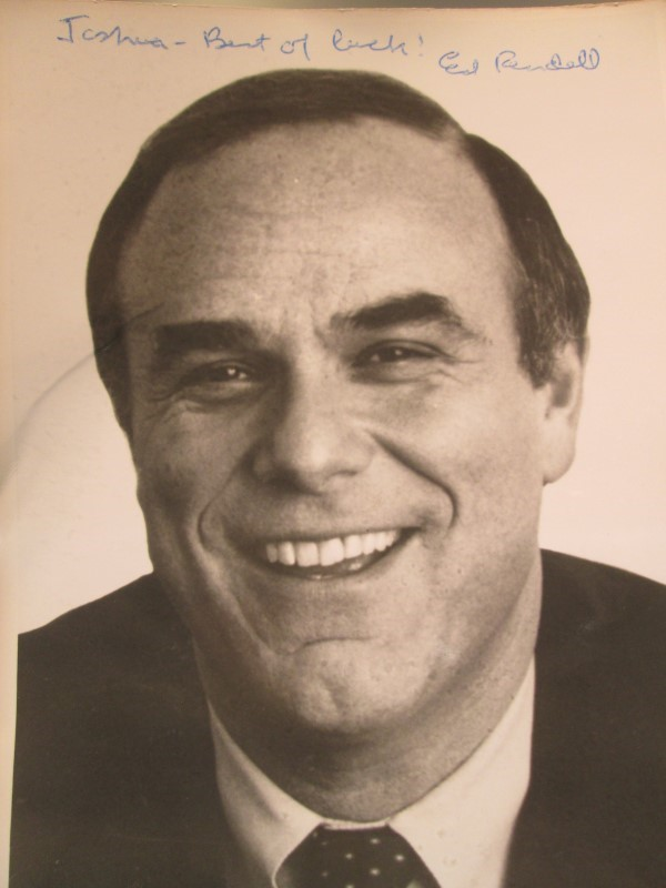 Autographed Photo of Ed Rendell
