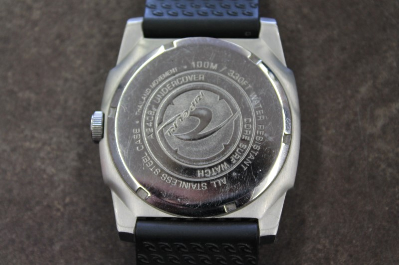 RIP CURL Gent's Wristwatch UNDERCOVER