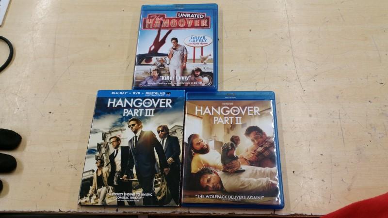 THE HANGOVER 1-3