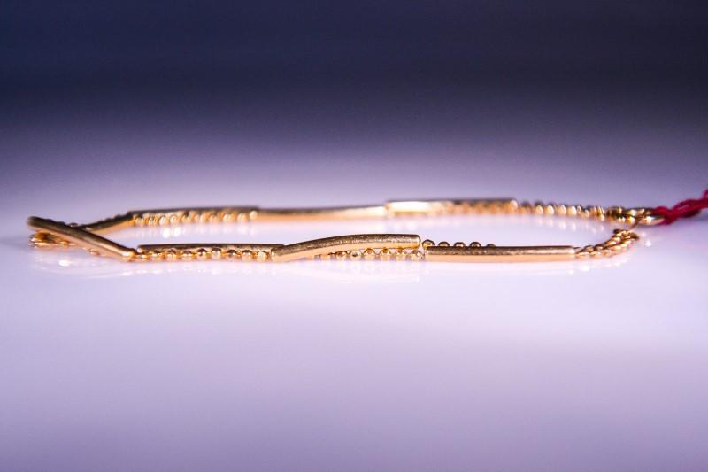 Gold Bracelet 18K Yellow Gold 3.8g