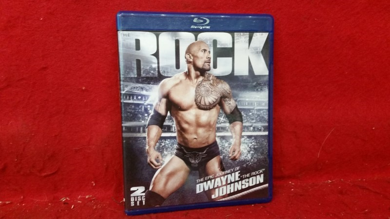 WWE The Rock: The Epic Journey of Dwayne Johnson - Pro Wrestling Blu-Ray