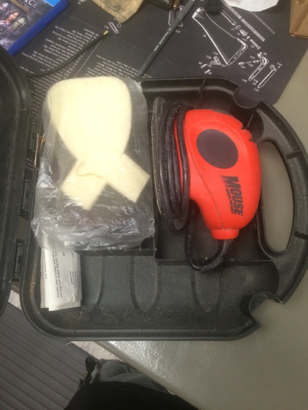 BLACK&DECKER Vibration Sander MS500