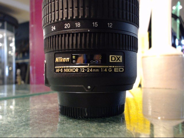 NIKON Lens/Filter DX SWM ED IF ASPHERICAL 12-24MM