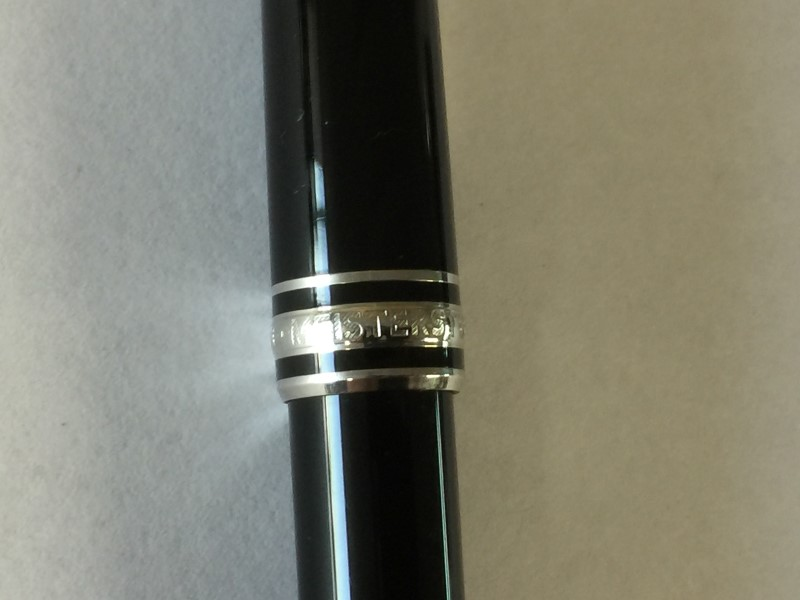 MONT BLANC MEISTERSTUCK PLATINUM BALL POINT PEN