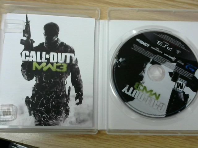 SONY Sony PlayStation 3 Game CALL OF DUTY MW3 - PS3