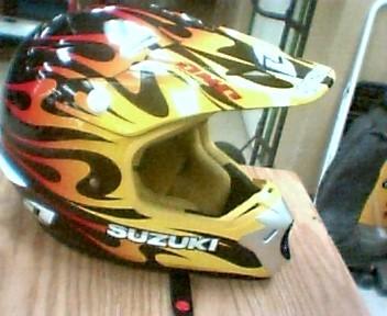 SUZUKI Motorcycle Helmet KOMBAT HELMET