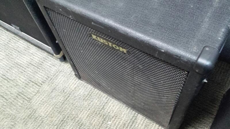KUSTOM AMPLIFICATION Bass Guitar Amp KBA100