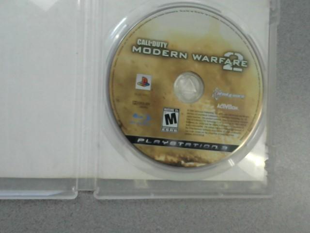 SONY Sony PlayStation 3 Game CALL OF DUTY MODERN WARFARE 2 - PS3