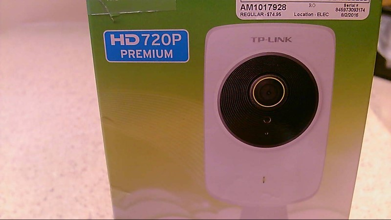 TP-LINK TL-NC250 Cloud 720p HD Day Night 300Mbps Wireless IP Camera White