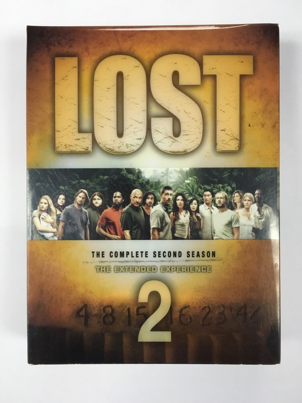 Lost: The Complete Second Season 2 The Extended Experience (DVD 2006)