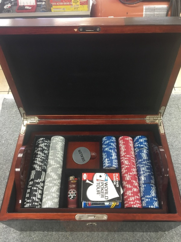WORLD POKER TOUR Casino Collectible POKER TABLE TOP