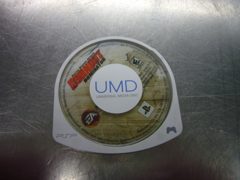 SONY PSP Game BURNOUT DOMINATOR *CARTRIDGE ONLY*