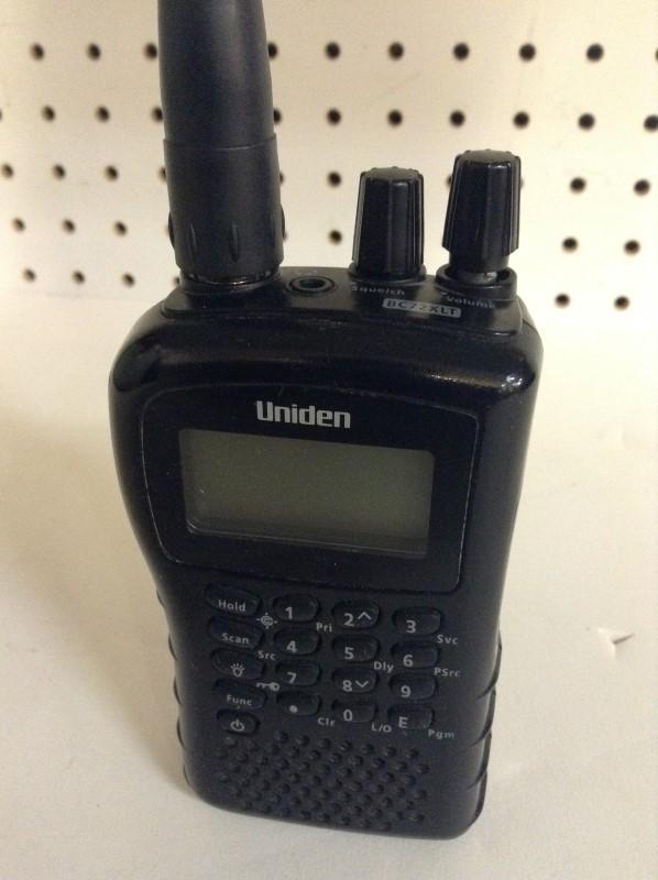 UNIDEN Police Scanner BC72XLT