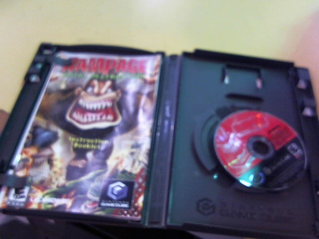NINTENDO Nintendo GameCube Game RAMPAGE TOTAL DESTRUCTION GAMECUBE