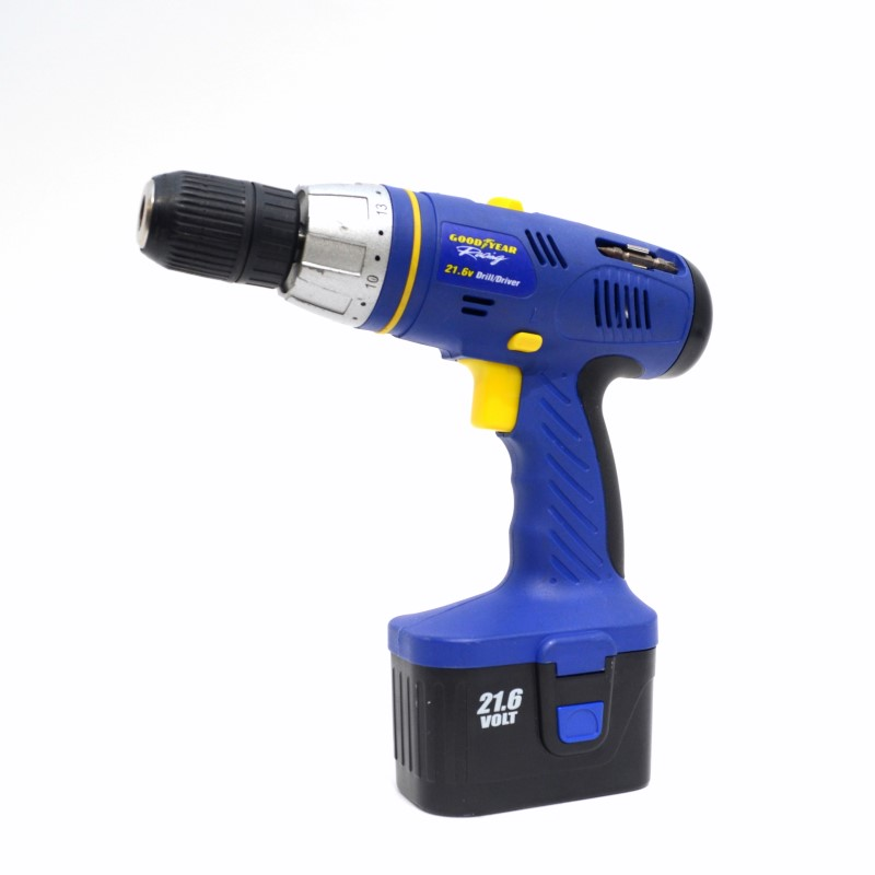 Goodyear COD216T29S 21.6V 1/2 13mm Cordless Drill/Driver & Charger>