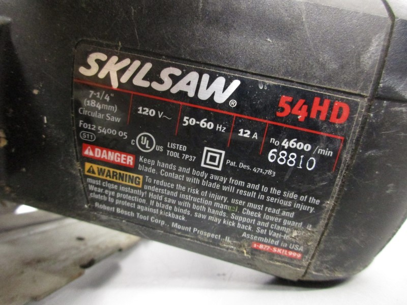 SKIL 54HD CIRCULAR SAW