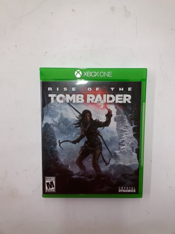 MICROSOFT XBOX One Game RISE OF THE TOMB RAIDER