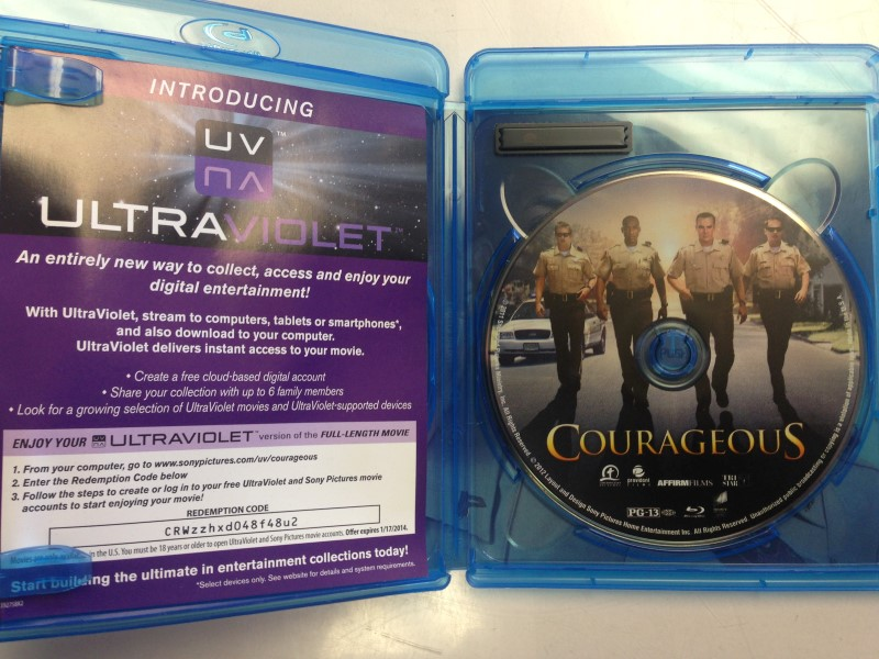 Courageous (Blu-ray Disc, 2012)