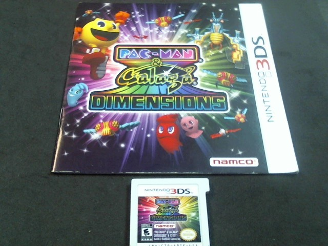 NINTENDO 3DS Game PAC-MAN & GALAGA DIMENSIONS (I05012388)