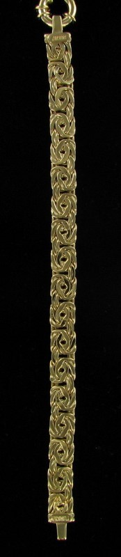 Gold Bracelet 18K Yellow Gold 9dwt