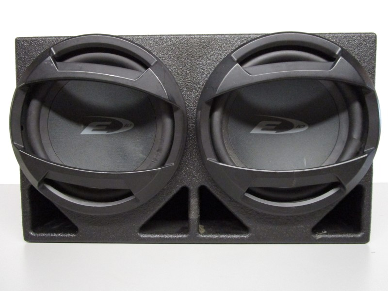 "ALPINE ELECTRONICS Car Audio 10"" SUBS IN BOX"