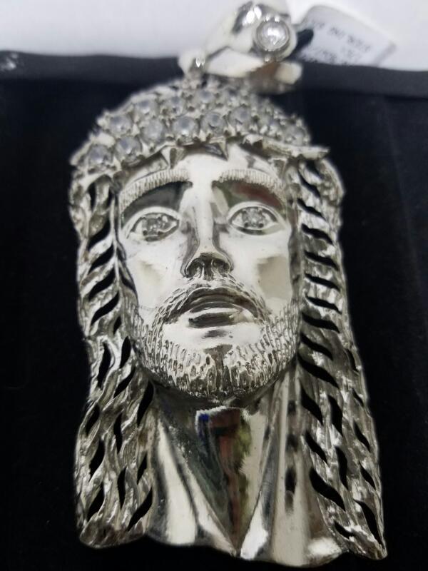 JESUS_HEAD CHARM STERLING SILVER   16.9DWT/SILVER