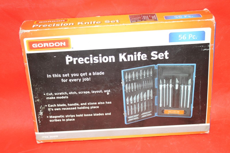 Gordon 56 Piece Precision Knife Set Crats Exactor Hobby