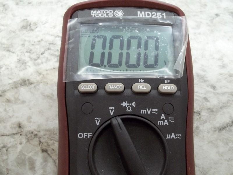 MATCO TOOLS MULTIMETER MD251