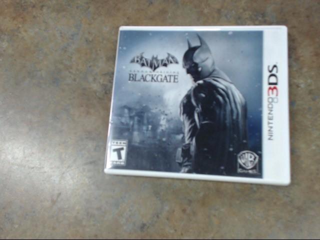 NINTENDO Nintendo 3DS Game BATMAN BLACKGATE