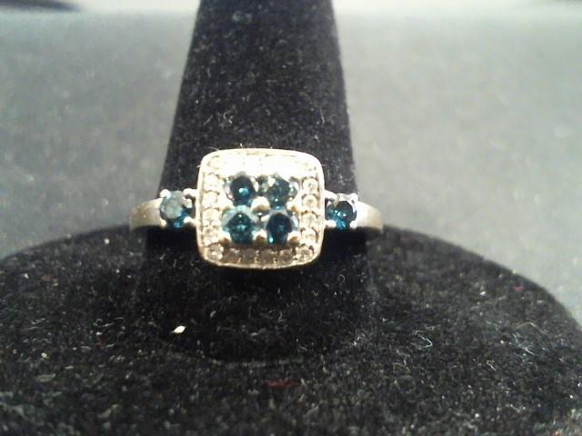Lady's Diamond Wedding Set 30 Diamonds .42 Carat T.W. 10K White Gold 2.5g