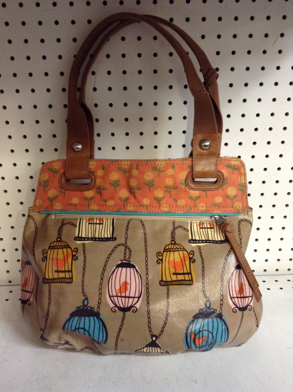 FOSSIL Handbag PURSE LEATHER