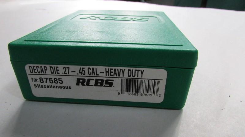 RCBS DECAP .27-.45 CAL HEAVY DUTY