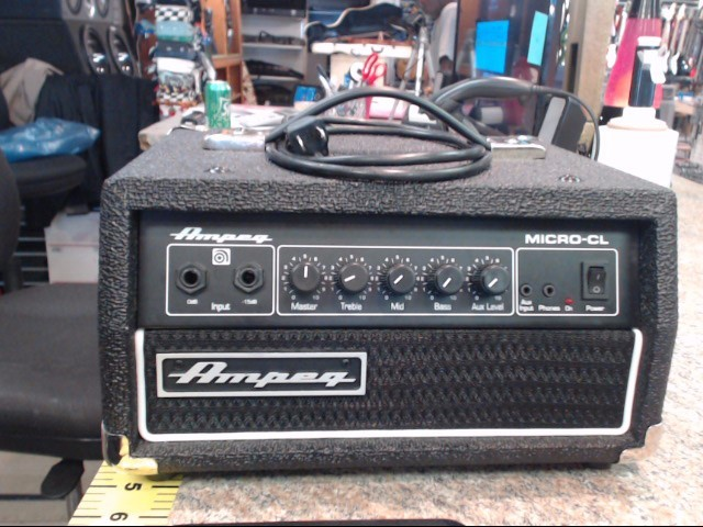 AMPEG Bass Guitar Amp MICRO CL