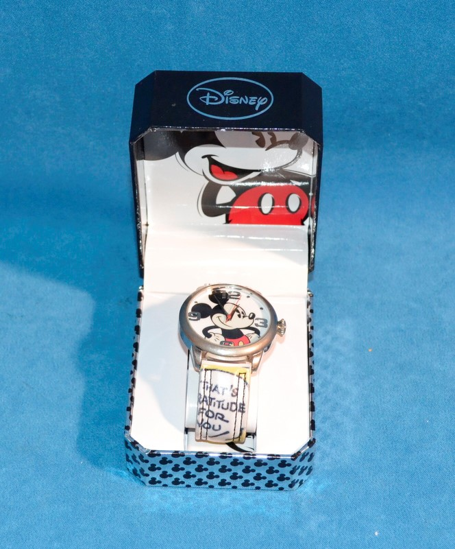 DISNEY Lady's Wristwatch MICKEY MOUSE WATCH 2316-4536 CLEAN COMIC BAND MCK958
