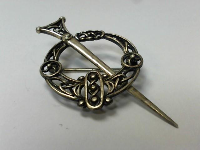 Silver Brooch 925 Silver 4.4g