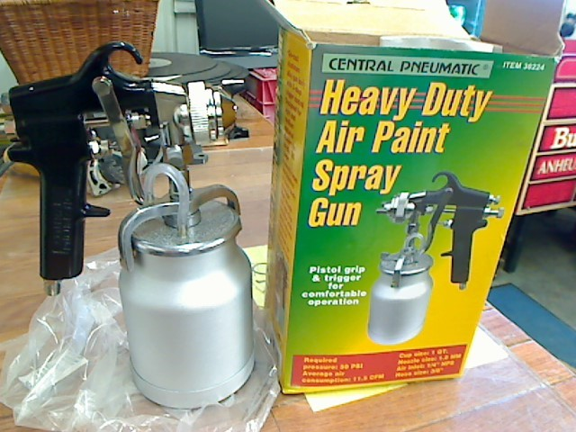 CENTRAL PNEUMATIC Spray Equipment 30224