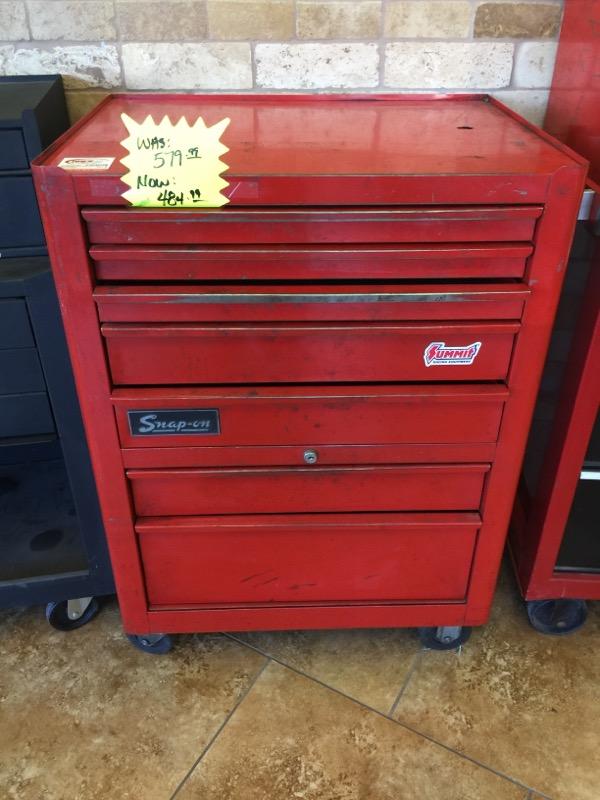 SNAP ON Tool Rollaway Box KRA-380