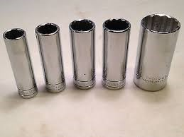PROTO TOOLS Sockets/Ratchet 11 PC 3/8 DRIVE IMPACT SOCKETS