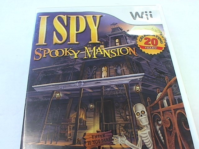 WII - I SPY SPOOKY MANSION