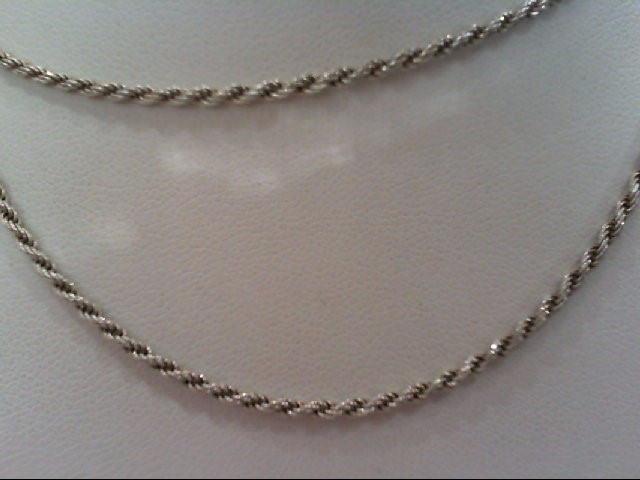 Silver Rope Chain 925 Silver 5.2g