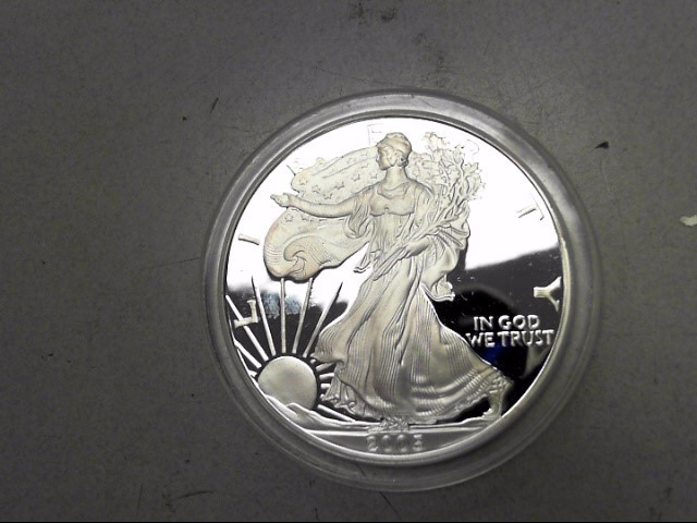 UNITED STATES Silver Coin 2005 PROOF SILVER EAGLE