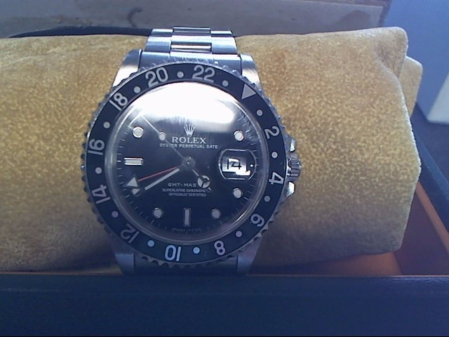 ROLEX Gent's Wristwatch 16700 STAINLESS GMT MASTER OYSTER PERPETUAL DATE