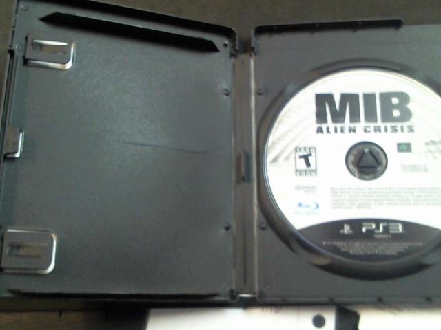 PlayStation 3 Game MIB ALIEN CRISIS